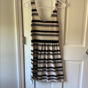 J.Crew Black and White Villa Dress Size XS
